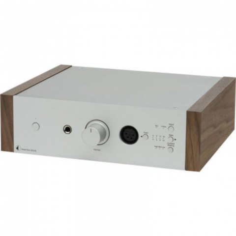 PRO-JECT Head Box DS2, Silver/Walnut (PJ71654474) - Extreme Electronics