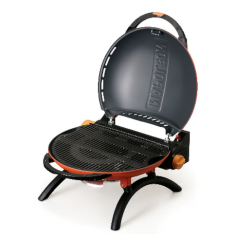 NAPOLEON Travel Q 2225 Portable Propane Grill, Orange (TQ2225PO)