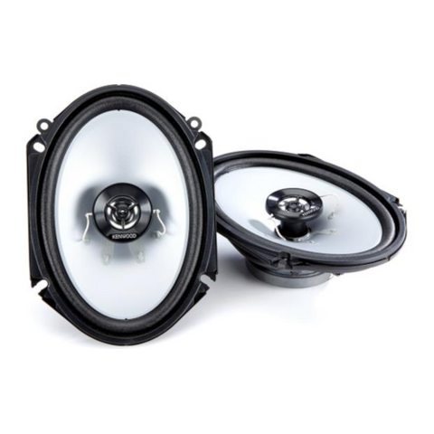 "KENWOOD 6""x 8"" 2-Way Sports Series Speakers, Pair (KFC-16866S) - Extreme Electronics"