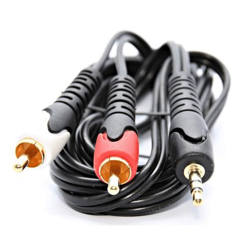 ULTRALINK  Stereo Audio Adaptor Cable, RCA to 3.5mm , 6ft (UHS571) - Extreme Electronics