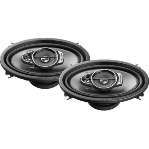 "PIONEER Premium A-Series 4""x 6"" 3-Way Car Speakers, Pair (TS-A462F) - Extreme Electronics"