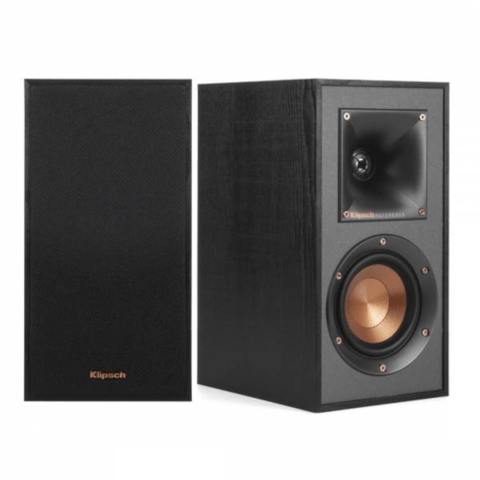 "KLIPSCH REFERENCE 4"" Bass Reflex Design Bookshelf Speakers, PAIR (R41M)"