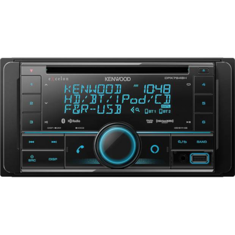 KENWOOD Excelon CD Receiver With Bluetooth (DPX794BH) - Extreme Electronics