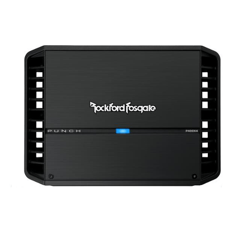 ROCKFORD FOSGATE Punch 4 Channel Car Amplifier 50 Watt RMS x 4 (P400X4) - Extreme Electronics
