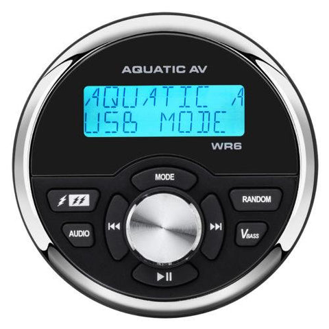 Aquatic AV Wired Waterproof Marine Remote Control (WR6) - Extreme Electronics
