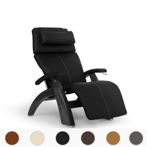 Human Touch Perfect Chair 420 Classic Manual Plus with Premium Leather Pad and Black Base