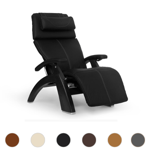 Human Touch Perfect Chair 610 with Premium Leather Pad and Omni Motion Classic Matte Black Base