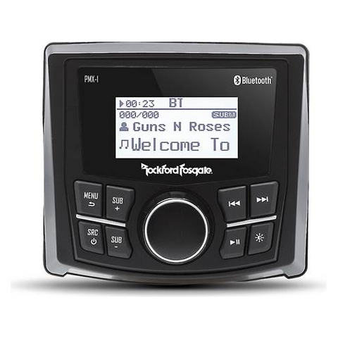 ROCKFORD FOSGATE Marine Digital Media Receiver with Bluetooth®, DOES NOT PLAY CDS (PMX1) - Extreme Electronics