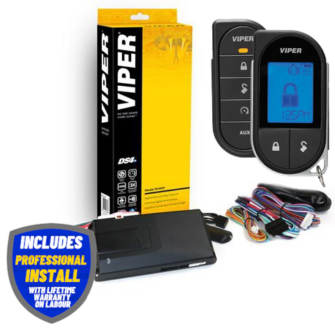 VIPER 2-Way Rechargeable LCD Remote Car Starter With 2 Mile Range (VIPERD9756V) Includes Installation - Extreme Electronics