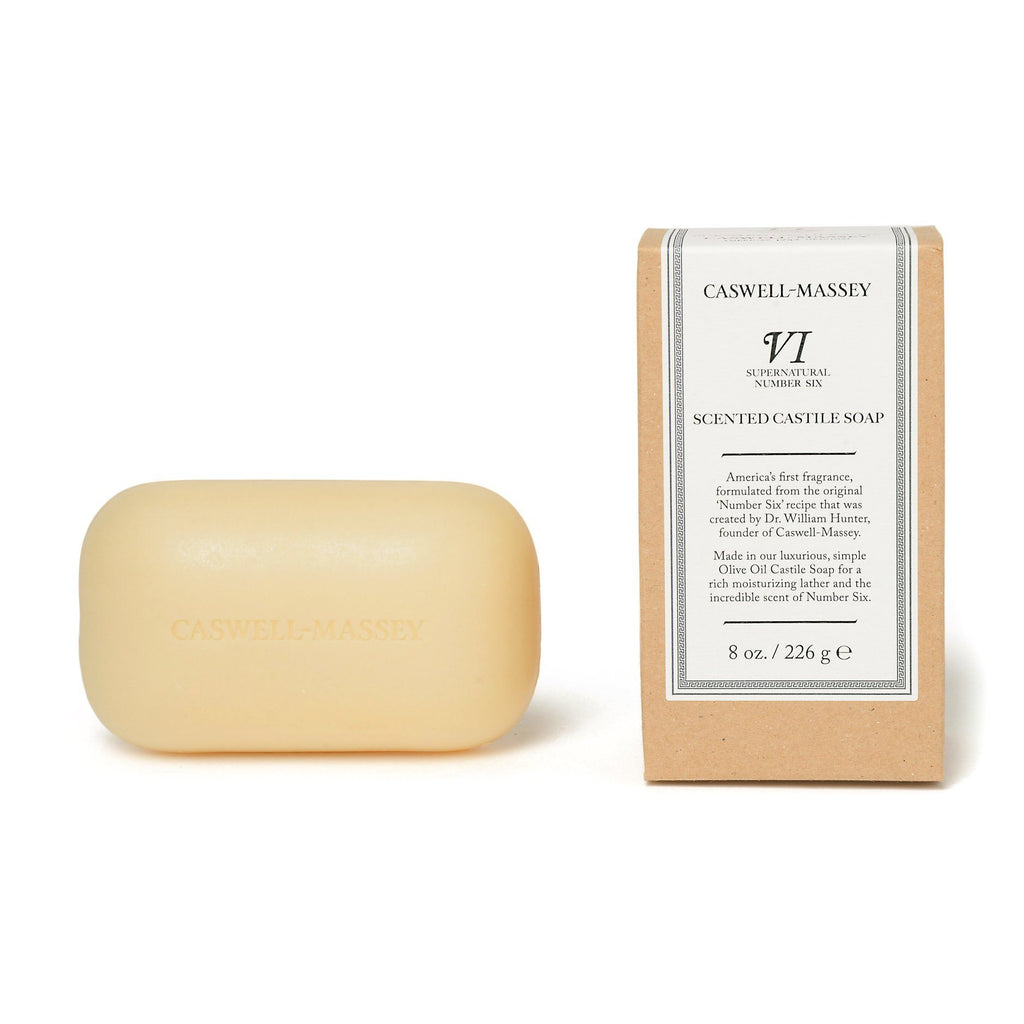 Caswell-Massey Deluxe Saddle Soap Bar Body Soap Caswell-Massey Number Six