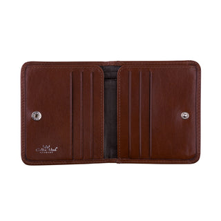 Golden Head Colorado Leather Wallet with Coin Pocket and 6 CC Slots, Tobacco Leather Wallet Golden Head