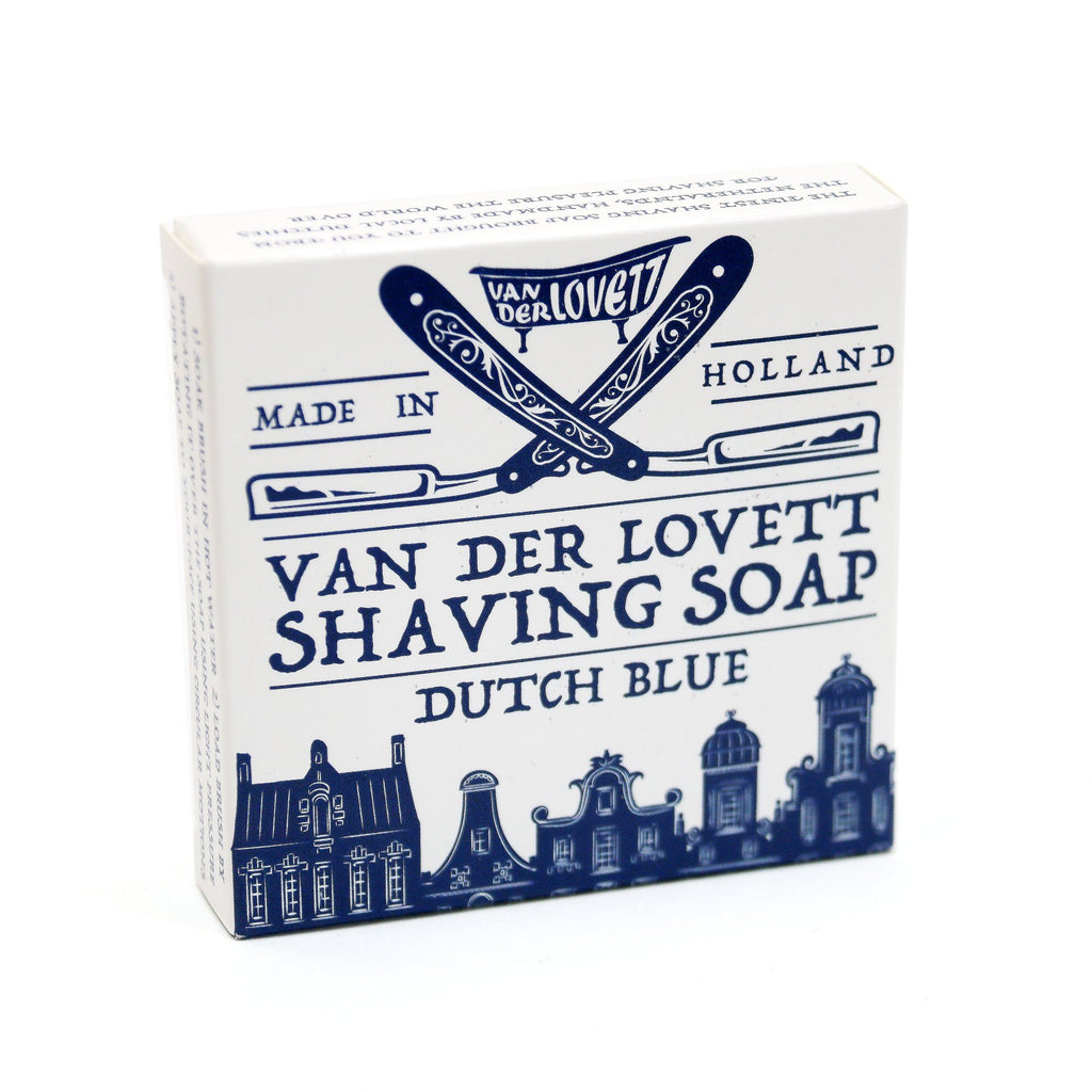 Van Der Lovett Shaving Soap Shaving Soap Van Der Lovett Dutch Blue