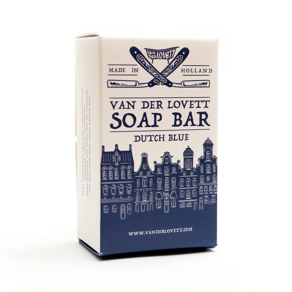 Van Der Lovett XL Soap Bar, Dutch Blue Body Soap Van Der Lovett