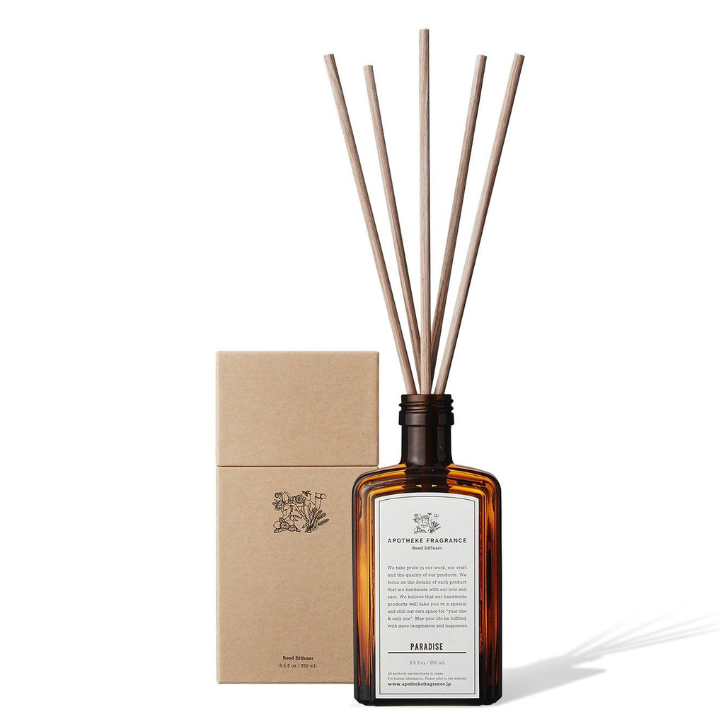 Apotheke Fragrance Reed Diffuser Sticks Refill Air Freshener Japanese Exclusives Paradise