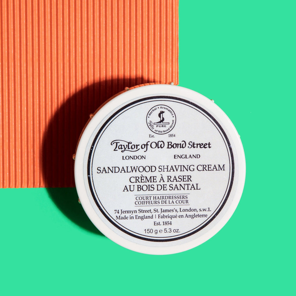 Taylor of Old Bond Street Shaving Cream Bowl, Sandalwood Shaving Cream Taylor of Old Bond Street