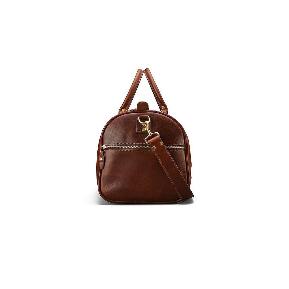 J. W. Hulme Co. Continental Duffle in American Heritage Leather Leather Bag J. W. Hulme Co