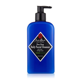 Jack Black Pure Clean Daily Facial Cleanser, 16 oz Men's Grooming Cream Jack Black