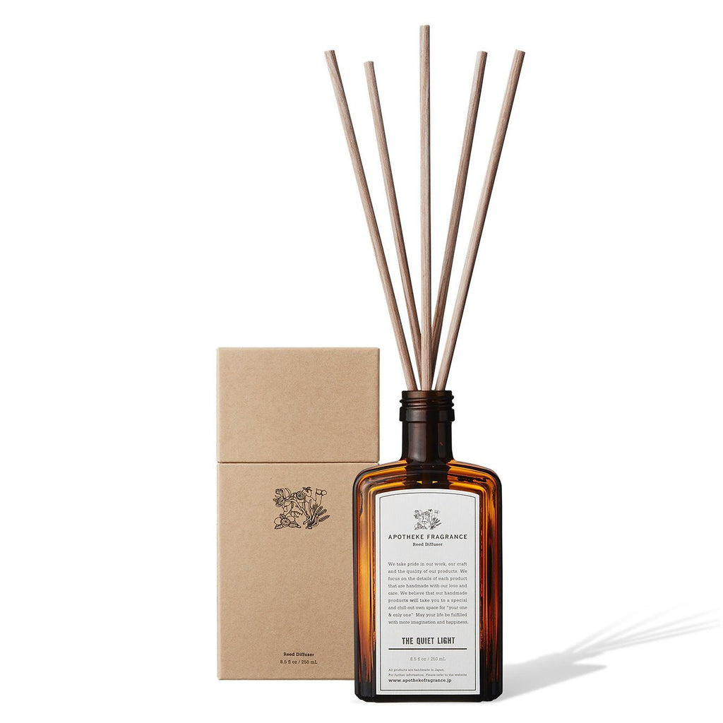Apotheke Fragrance Reed Diffuser Sticks Refill Air Freshener Japanese Exclusives The Quiet Light