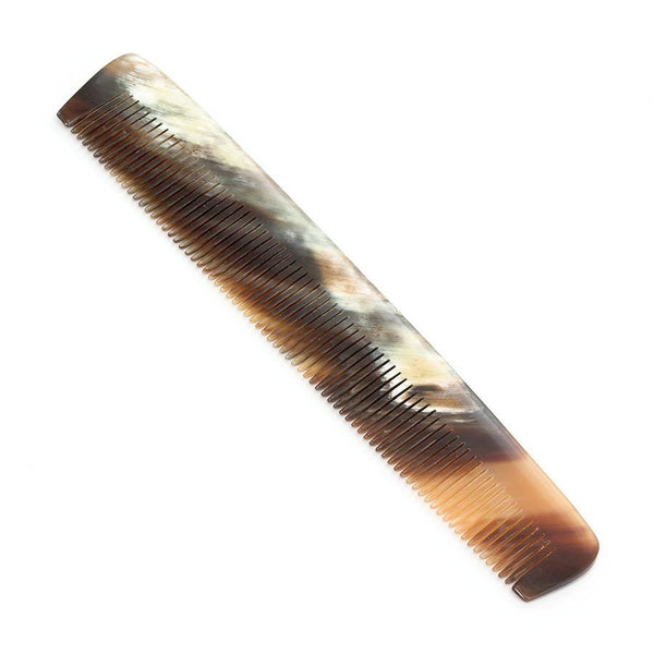 Abbeyhorn Ox Horn Single-Tooth 150mm Pocket Comb - Fendrihan - 3