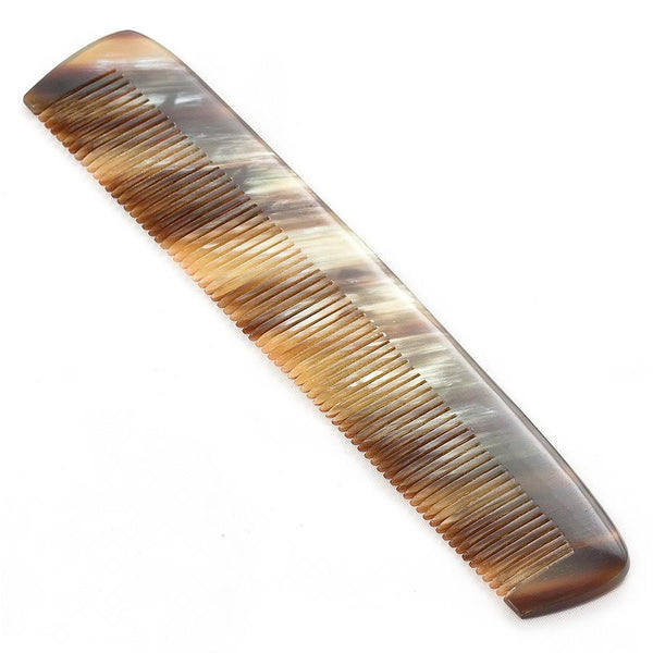 Abbeyhorn Ox Horn Single-Tooth 150mm Pocket Comb - Fendrihan - 4