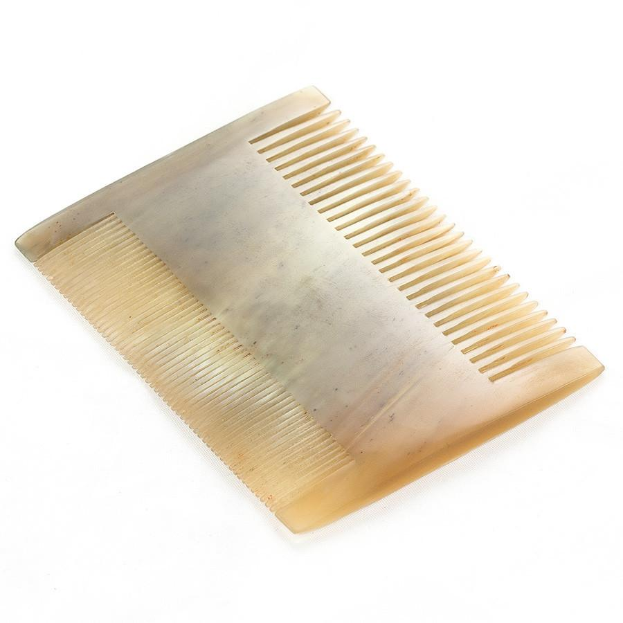 Abbeyhorn Ox Horn Double Sided Comb, 92mm Comb Abbeyhorn