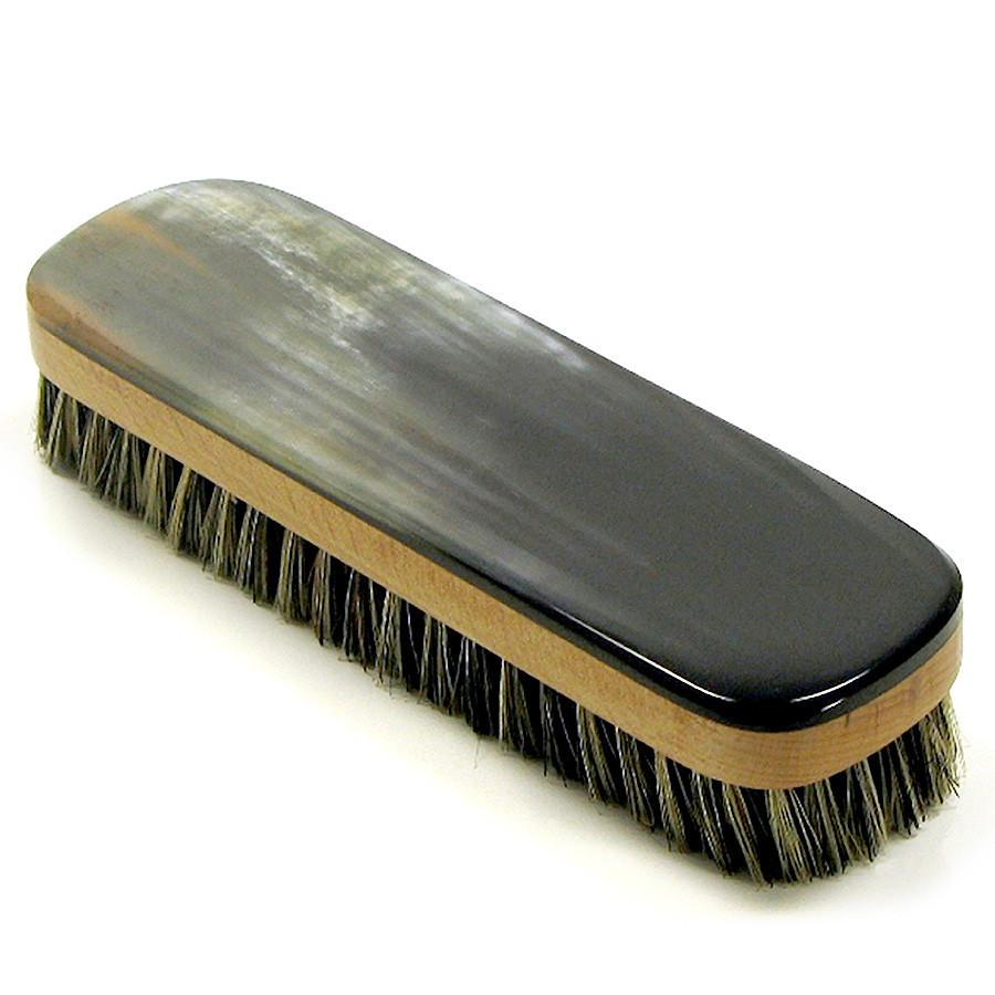 Abbeyhorn Oxhorn Rectangular Clothes Brush Hair Brush Abbeyhorn