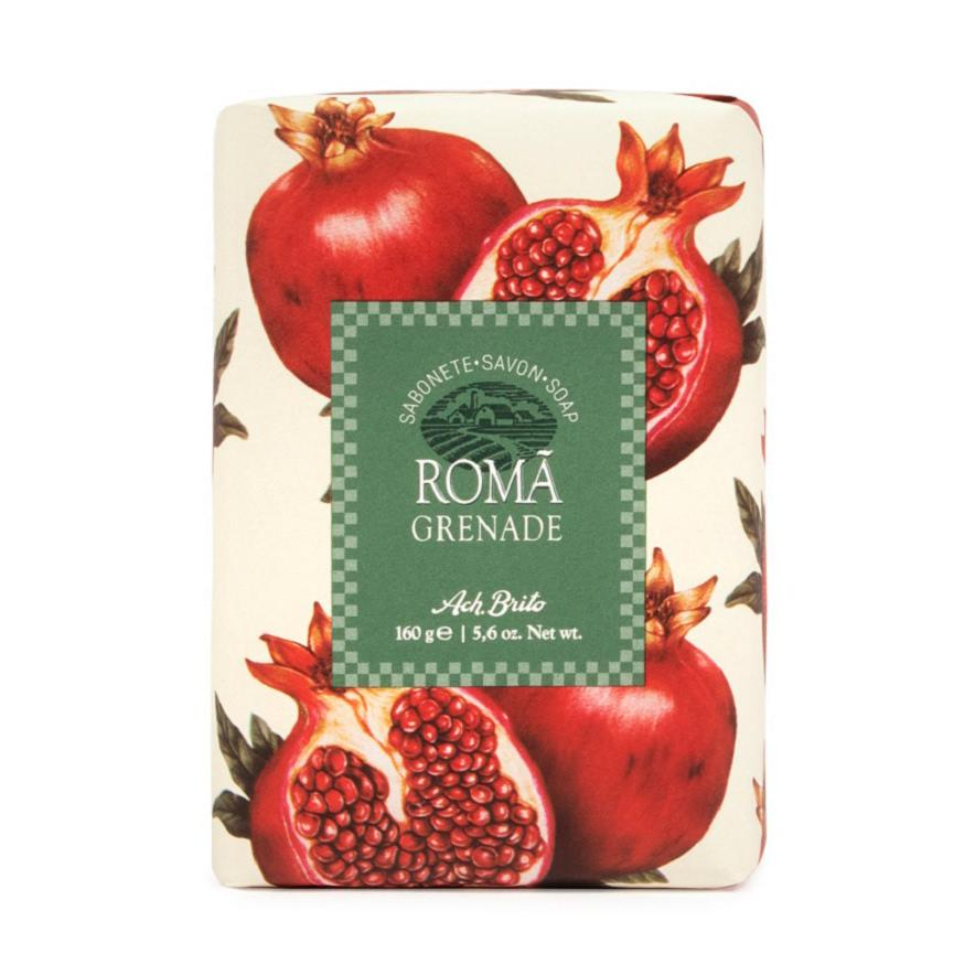 Ach Brito Frutos Soap Bar Body Soap Ach Brito Pomegranate (Romã)