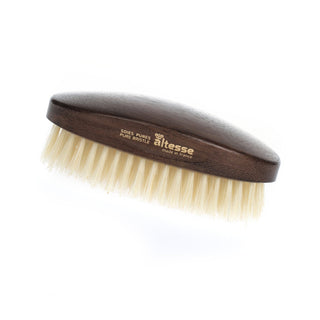 Altesse Military Hairbrush with Light or Dark Pure Bristles Hair Brush Altesse