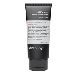 Anthony All Purpose Facial Moisturizer Face Moisturizer and Toner Anthony