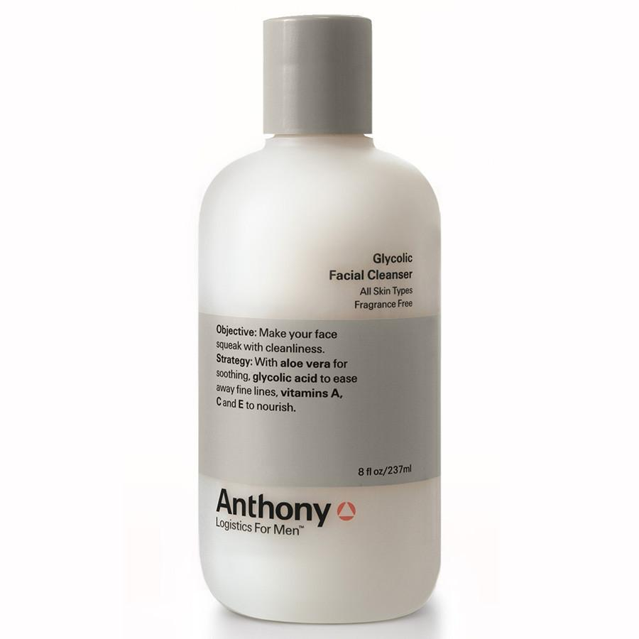 Anthony Glycolic Facial Cleanser Men's Grooming Cream Anthony