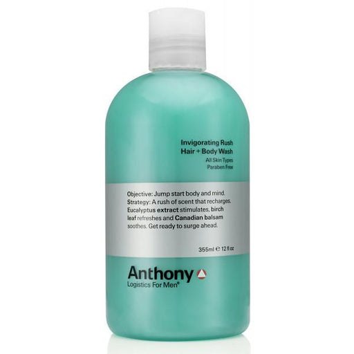 Anthony Logistics For Men Invigorating Rush Hair and Body Wash - Fendrihan
