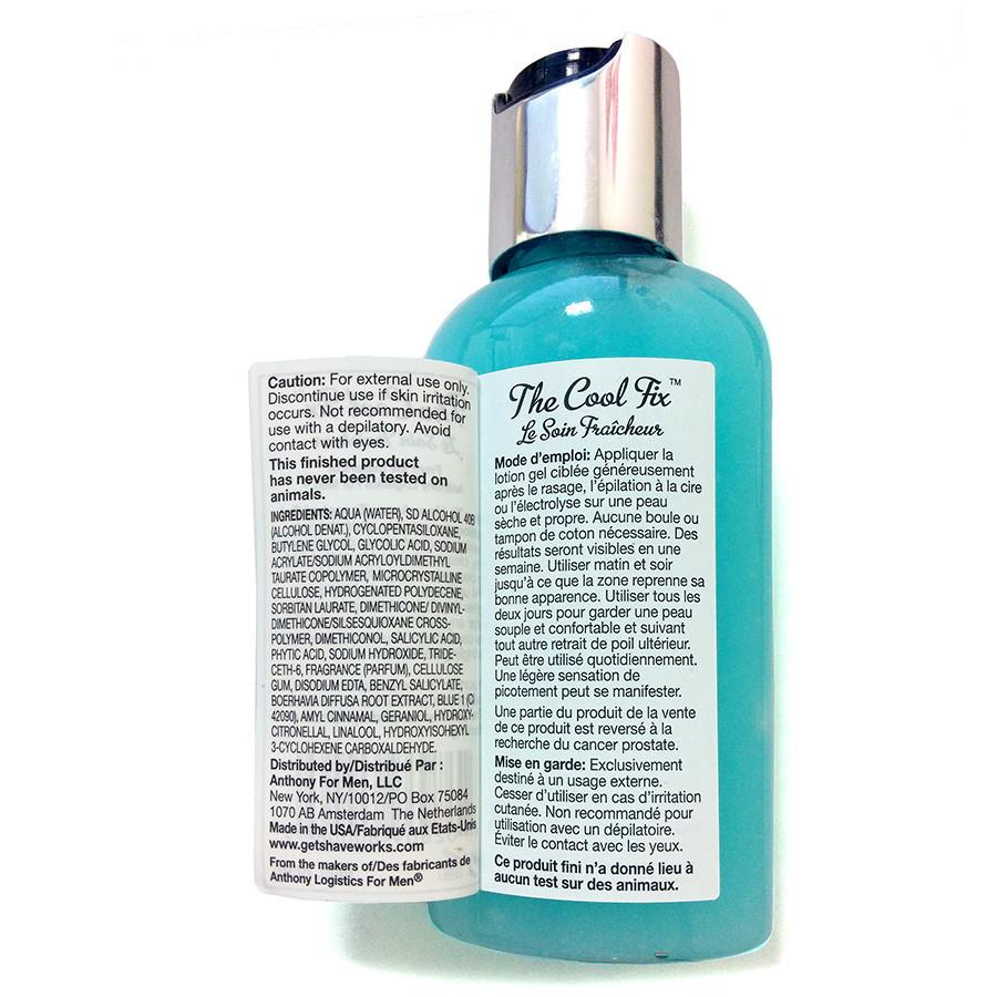 Anthony Shaveworks The Cool Fix Aftershave, Travel Size Aftershave Gel Anthony