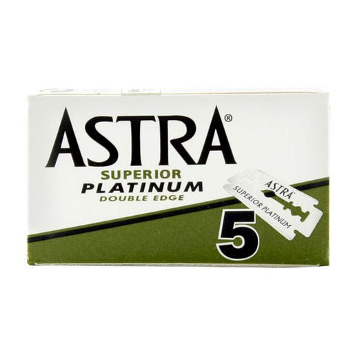 10 Astra Double-Edge Safety Razor Blades - Fendrihan