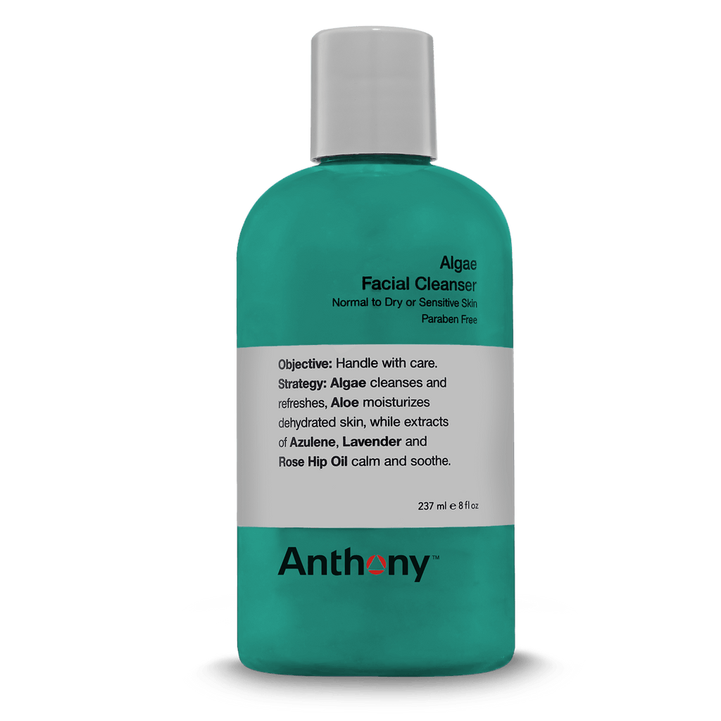 Anthony Logistics For Men Algae Facial Cleanser - Fendrihan