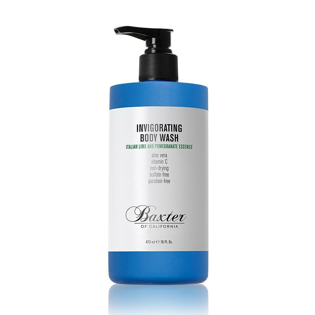 Baxter of California Invigorating Body Wash, Italian Lime and Pomegranate Essence Men's Body Wash Baxter of California 16 fl oz (473 ml)