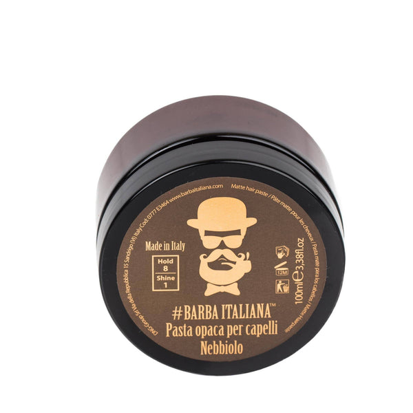 Barba Italiana Nebbiolo Matte Hair Paste