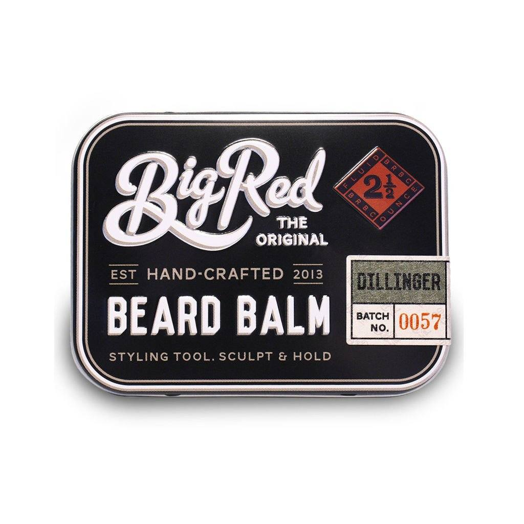 Big Red Beard Balm 2.5 oz - Dillinger - Fendrihan - 1