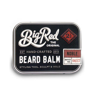 Big Red Beard Balm 2.5 oz - Noble Beard and Face Balm Big Red
