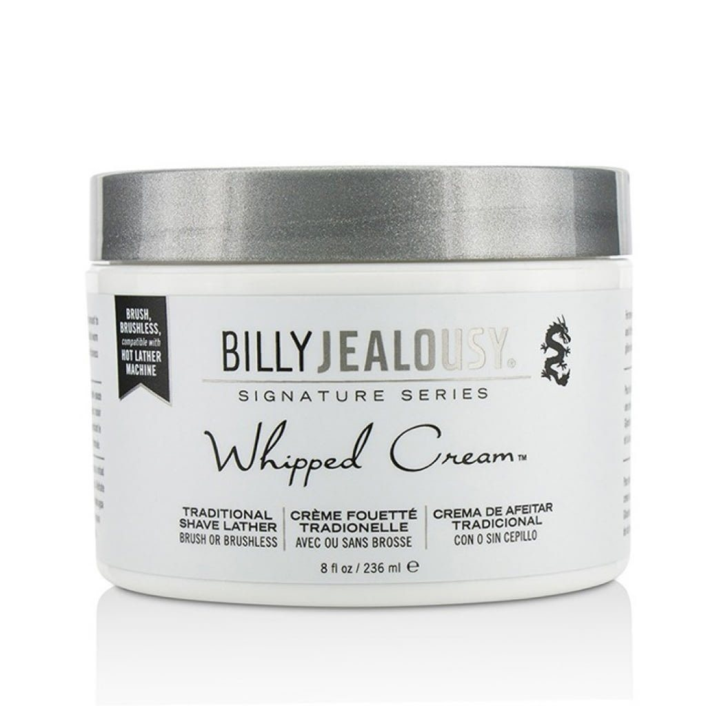 Billy Jealousy Whipped Cream Traditional Shave Lather Shaving Cream Billy Jealousy