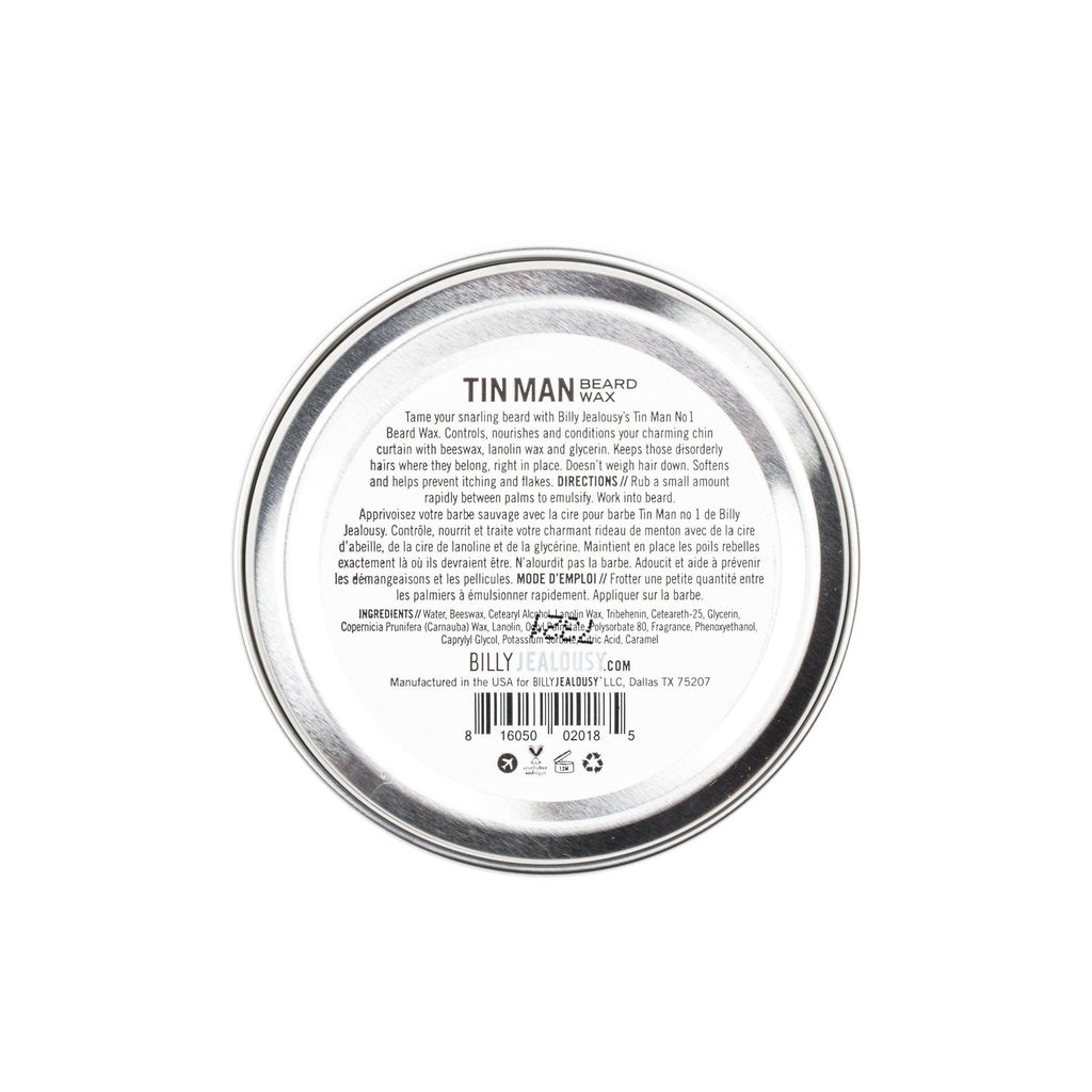 Billy Jealousy Tin Man No. 1 Beard Wax