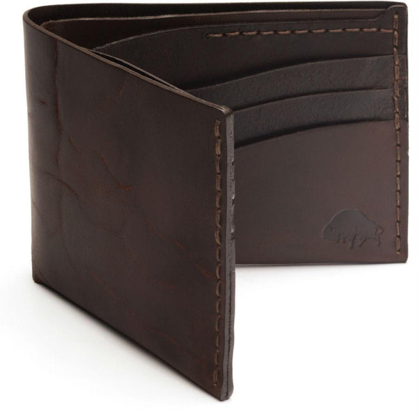 Bison No. 8 Wallet in Choice of Chromexcel Leather or English Bridle Leather - Fendrihan - 6