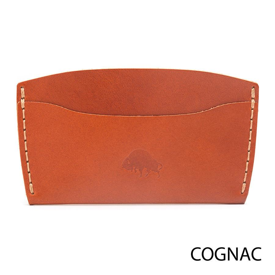 Bison No. 3 Wallet in Choice of Chromexcel Leather or English Bridle Leather - Fendrihan - 5