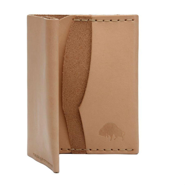 Ezra Arthur No. 4 Wallet in Choice of Natural Leather or Chromexcel Leather by Horween, Chicago