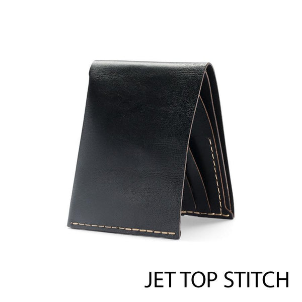 Bison No. 8 Wallet in Choice of Chromexcel Leather or English Bridle Leather - Fendrihan - 2