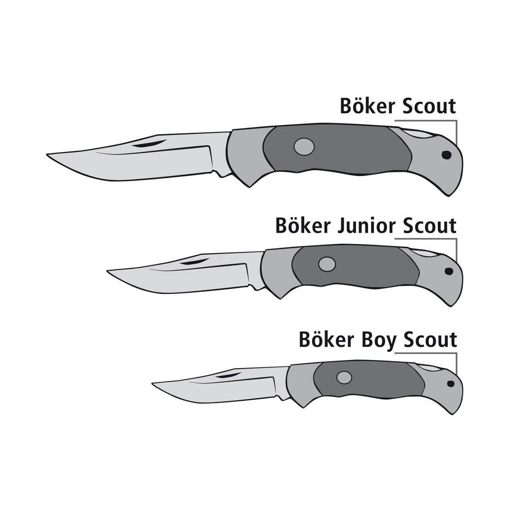 Boker Scout Rosewood Pocket Knife Pocket Knife Boker
