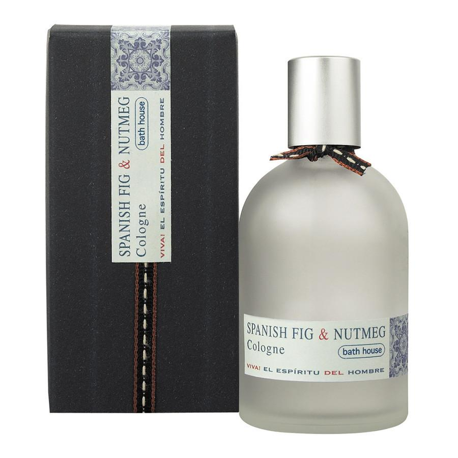Bath House Spanish Fig and Nutmeg Cologne Fragrance for Men Bath House