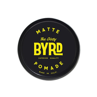 BYRD Classic Pomade, The Dirty Byrd Hair Pomade BYRD