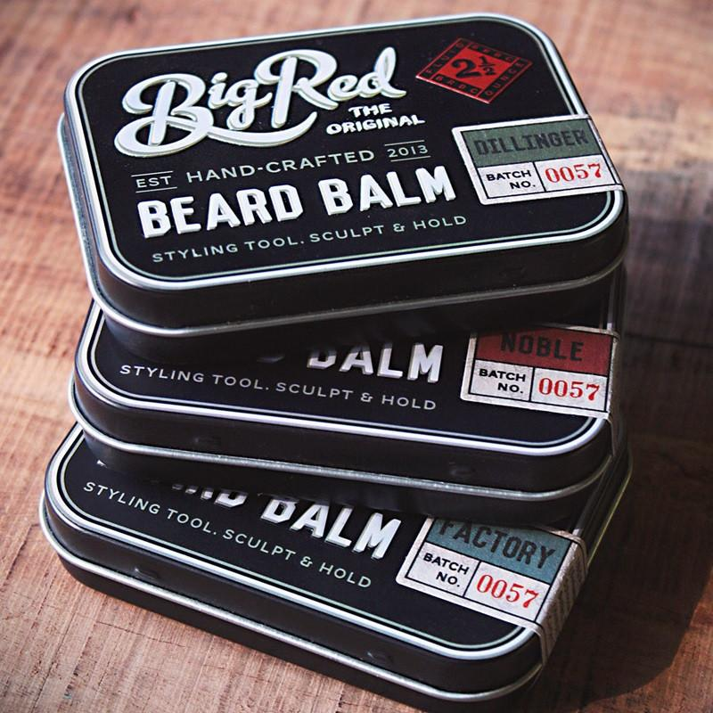Big Red Beard Balm 2.5 oz - Dillinger - Fendrihan - 2