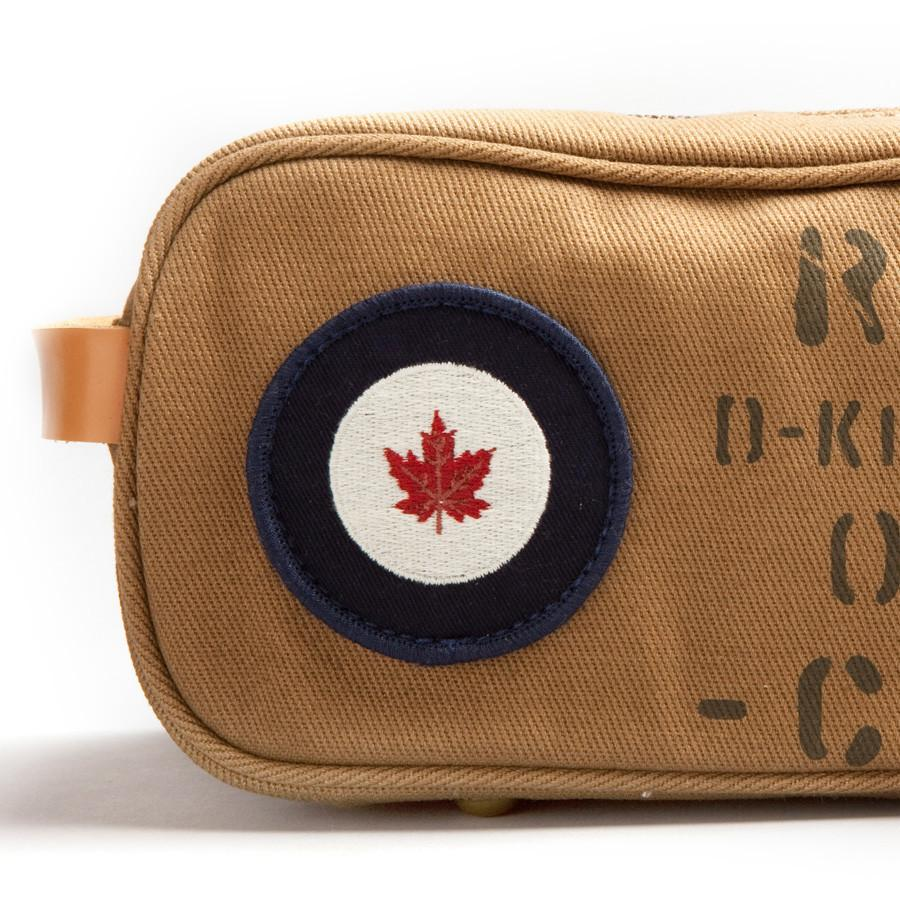 Red Canoe RCAF Toiletry Bag Grooming Travel Case Red Canoe
