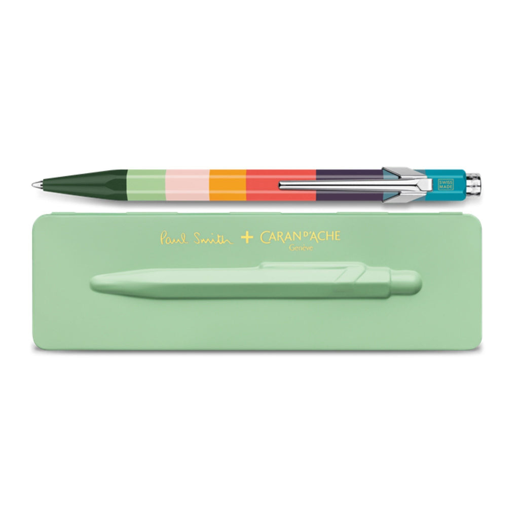 Caran d'Ache 849 Paul Smith Limited Edition Ballpoint Pen Ball Point Pen Caran d'Ache Pistachio Green